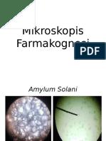 Mikroskopis Farmakognosi