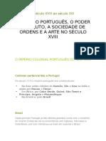 Resumo de Geografia e História de Portugal 6 Ano- Fonte O Bichinho Do Saber