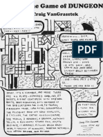 Rules to the Game of Dungeon
