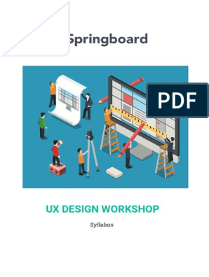 Springboard Ux Design Syllabus V2 Mar16 Usability Computing
