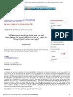 Utilización de Sondeos Eléctricos Para El Diagnóstico Del Potencial Hídrico de La Región de Tizeght (Anti-Atlas Marroquí)
