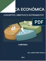 POLÍTICAS ECONOMICAS