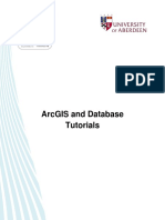 ArcGIS and Database - Tutorial links.pdf