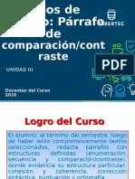 Sesión 17_ Párrafo de Comparación-contraste