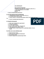 Sbi Housing Loan Checklist Ri New