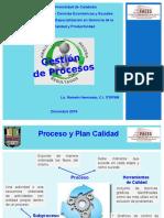 Presentación Exp. Plan de Calidad