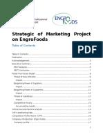 Strategic Marketing Project on EngroFoods.docx