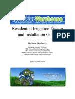 Design and Install a Sprinkler System