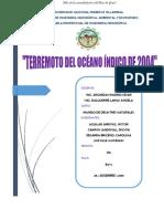 TERREMOTO EN EL OCEANO INDICO 2004