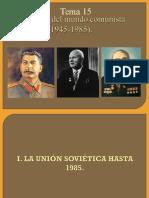 Evolucion Del Mundo Comunista