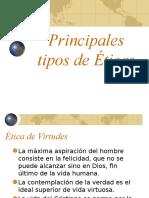 Principales Tipos de Eticas