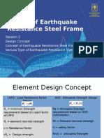2. Concept Earth Quake Resistante of Steel Portal