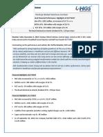 Results Press Release, Earnings Presentation for September 30, 2016 [Result]