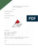 Un Trunchi de Piramida Patrulatera Regulata Provine Din Piramida P Si Are