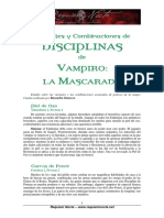Rn0242 Variantes y Combinaciones de Disciplinas de Vampiro La Mascarada
