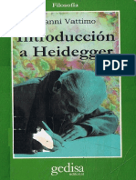 115567208 Gianni Vattimo Introduccion a Heidegger