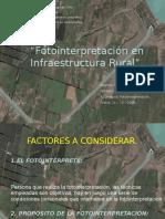 Fotointerpretación en Infraestructura Rural