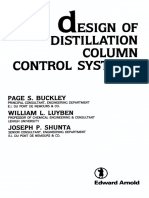 Design to Distillation control system