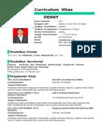 Resume DENNY New