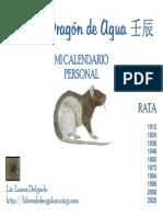 Calendario Personal Rata