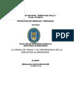 Monografia de Trigo