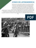 Golpes de Estado en Latinoamerica