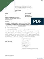 Trujillo v. Apple Computer, Inc. et al - Document No. 97