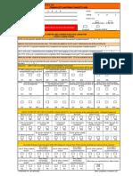 GP-12 Check Sheets