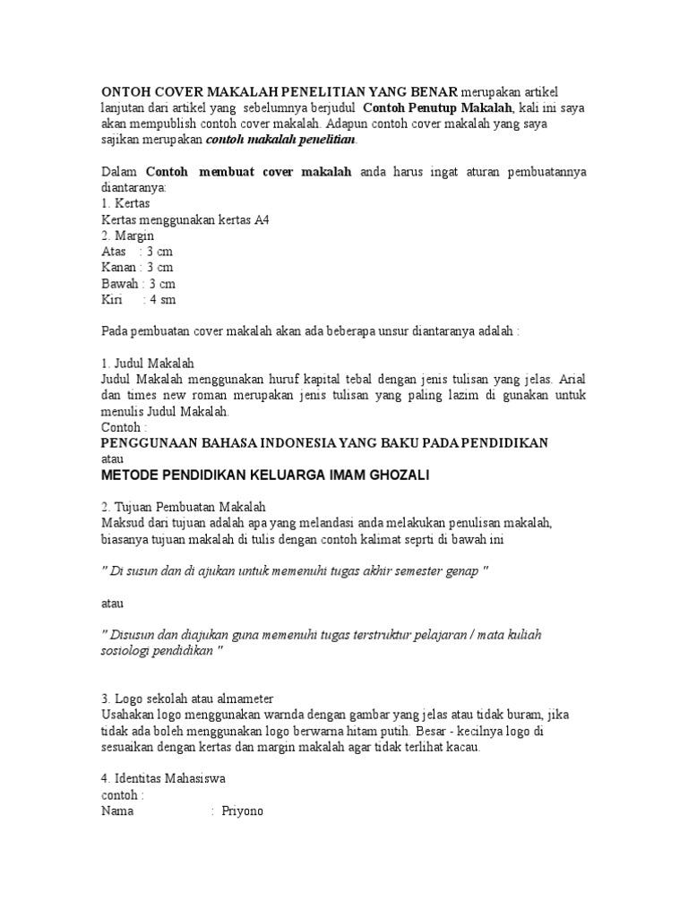 Https Nandonurhadi Files Wordpress Com 2014 06 Langkah Penulisan Apastyle Contoh Dalam Bahasa Indonesia Pdf