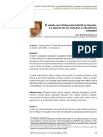 estado de la educacion infantil en españa.pdf