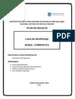 Plan de Negocios Casas de Hospedaje y Campamentos (1)