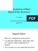 4 Filter Structures