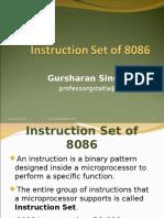 Instruction Set of 8086 (1)