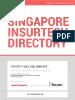 singapore insurtech directory  v1 0