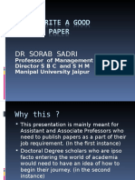 How to write a Research Paper.ppt