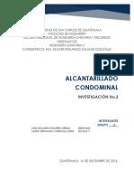 3 ALCANTARILLADO CONDOMINAL