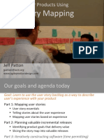 Patton - User Story Mapping