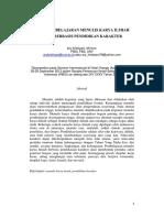 Pembelajaran Menulis Karya Ilmiah Berbasis Pendidikan Karakter Makalah Prosiding Sem Inter Pibsi 201