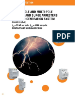 Single_pole and Multi-pole Lightning Current and Surge Arrestres for Wind Generation System