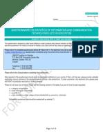 ICT Questionnaire En