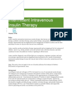 Insulin Tharapy 1