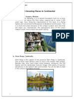 Most Famous and Amazing Places in Continental