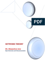Network Theory 3rd Semester Etc Bees2211