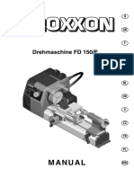 Torno FD150 Manual