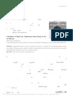 用Excel软件计算混合气体压缩性系数