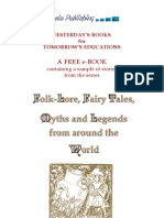 Folklore Fairy Tales Myths and Legends From Around the World