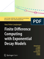 Difference Computing Exponential Computational Engineering