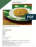 Ativismo Vegetariano_ Hamburguer de Quinoa Com Ervas ( Vegano )