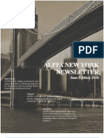 ALPFA NY Chapter Newsletter June Edition