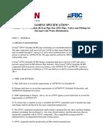 Corzan CPVC Potable Specification 080709 (1)